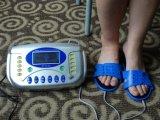 발 Electrod 안마를 위한 편리한 까만 10 EMS 슬리퍼