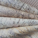 Cuoio di legno del sughero del Faux del grano per la decorazione Hw-735 del pavimento