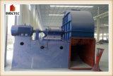 El horno de Hoffmann del ladrillo de la arcilla con continúa el sistema de funcionamiento