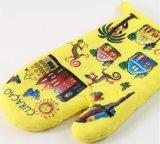 Печь безопасности & напечатанный хлопок перчаток выпечки