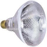 La lampada infrarossa R115 scalda l'indicatore luminoso infrarosso di calore della stanza da bagno chiara