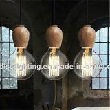 Lâmpadas de madeira modernas populares do pendente para a iluminação Home