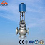 Válvula de controle (3-way) elétrica de alta temperatura de três maneiras (GAZDLX. GAZDLQ)