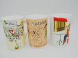 Реактивный кофеий 14 Oz керамический, кружка молока