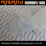 Modifica impermeabile dell'autoadesivo RFID di alta qualità di resistenza per il bene