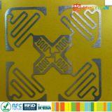 Etiqueta resistente ao calor/Tag da freqüência ultraelevada RFID de Monza R6 do mangement do recurso