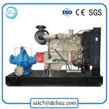Bomba centrífuga de la irrigación de la cubierta partida doble del impulsor con el equipo diesel