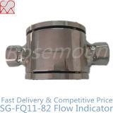 Indicador de fluxo de vidro quente de aço inoxidável para óleo