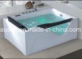 BALNEARIO derecho libre de la bañera del masaje del rectángulo de 1700m m con el Ce RoHS (AT-3306-1)