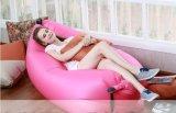新しいデザインRipstopのナイロン膨脹可能な空気ソファーの寝袋屋外の不精なBed