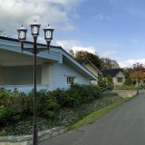 D'usine la meilleure voie d'horizontal des prix DEL directement allumant la lampe extérieure solaire à vendre