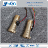 Быстро соединение и продевать нитку датчик подачи воды соединения латунный, высокотемпературный жидкостный датчик подачи