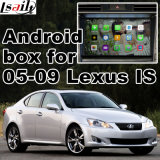Video interfaccia dell'automobile per 2005-2009 Lexus Ls, parte posteriore Android di percorso e panorama 360 facoltativi