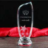 Métier de trophée de verre cristal de 2016 nouveau conceptions