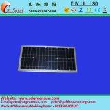 12Vシステムのための18V 30Wのモノラル太陽電池パネル