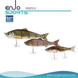 釣り人の選り抜きマルチ接合された採取のリアルな小魚の魅惑の低音の餌の浅い釣り道具釣魅惑の水泳の餌(MS0512)