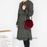 Кожаный мешок Crossbody, мешок плеча Crossbody, популярный мешок женщин