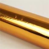 Folha de carimbo quente do ouro para o papel/plástico/couro/matéria têxtil