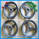 Sand-Gussteil-Prozess-Eisen-Handräder