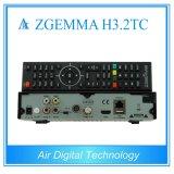 El rectángulo más nuevo DVB de la TV vía satélite de Zgemma H3.2tc S2 + 2 * DVB T2/C