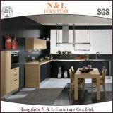 Mobilia di legno della cucina dell'armadio da cucina dell'impiallacciatura