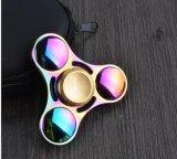 Diseño del hilandero de la persona agitada del color del arco iris HS331 nuevo del hilandero del dedo