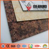 Ideabond Büro-Gatter-Simulations-Marmor-Blick-Aluminiumfassadenelement (AE-501)