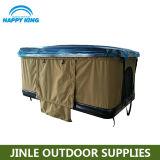 Tenda esterna fatta funzionare a mano della parte superiore del tetto dell'automobile delle coperture dure per accamparsi