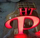 Enregistrer la lettre acrylique lumineuse de la Manche de signe de DEL