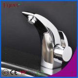 Fyeer Single Handle & Hole Chrome Banheiro Bacia de lavatório Torneira de misturador de água
