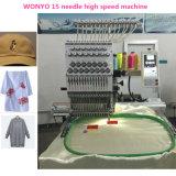 Machines automatisées de broderie avec 15 pointeaux