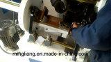 Máquina que arruga y que corta con tintas hidráulica