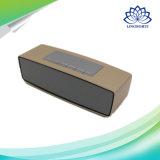 Haut-parleur d'appel Main-Libre de Bluetooth d'or et d'argent mini avec FM