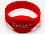 RFID AntennenWristband für Festivals/Schwimmen-/Bereich-/der Ereignis-kundengerechte ID/IC Armband-Karte