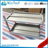 Banco solido della cucina della costruzione robusta di rinforzo mensola quadrata dell'acciaio inossidabile del tubo con il piedino registrabile del piedino