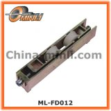 Rolo em tandem da liga do zinco da roda para a porta deslizante (ML-FD012)
