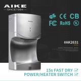 Essiccatore automatico della mano del getto potente dei CB del CE, l'essiccatore sanitario della mano (AK2631)
