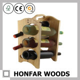 8本のびん棒家具のための木製ラック赤ワインラック