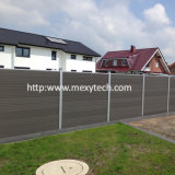 Cerca de aluminio modificada para requisitos particulares al aire libre del jardín del mantenimiento libre WPC para la venta