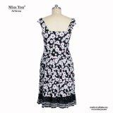 Платье части женщин Miss Вы Ailinna 82804 вскользь одно в флористической печати