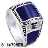 De nieuwe Ring van de Juwelen van het Ontwerp Zilveren voor de Mens