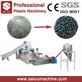 Película Waste do PE dos PP que recicl a fábrica de máquina plástica