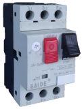 Sdm7直巻電動機の保護回路ブレーカ(25A)