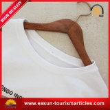 T-shirt van de Hals van de nieuwe Mensen van het Ontwerp de Ronde, de T-shirt die van de Douane het Katoen van 100% afdrukken