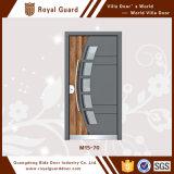 Portes en aluminium de garantie de grande de vente porte européenne d'acier inoxydable