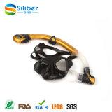 Máscara profissional do mergulho autónomo de China e equipamento de mergulho ajustado do Snorkel, máscara Snorkeling