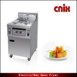 Máquina de las patatas fritas de Cnix Ofe-28A (sartén abierta)