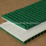 Preço de fábrica 5 mm Green PVC Rough Top Grass Conveyor Belts