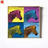 Impresión decorativa moderna de la lona de los caballos para el hogar