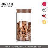 frasco barato do vidro de Borosilicate do preço 580ml com tampa da cortiça